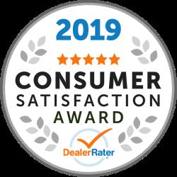 DealerRater Consumer Satisfaction Award Recipient