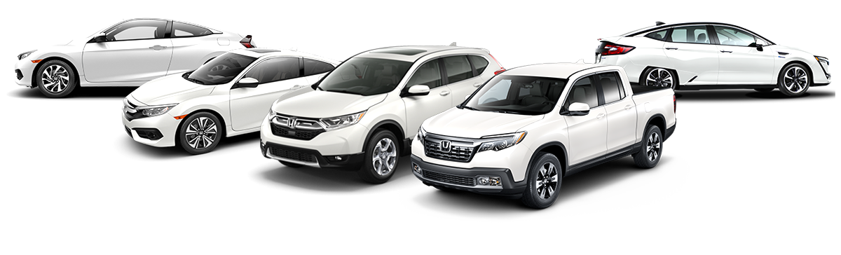 Bryan Honda vehicles