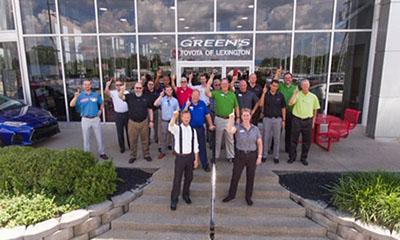 Green'S Toyota Service >> Greens Toyota Employment