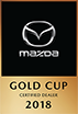 Mazda Gold Cup Certified Dealer 2018