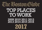 The Boston Globe Top Places to Work Nine Year Running