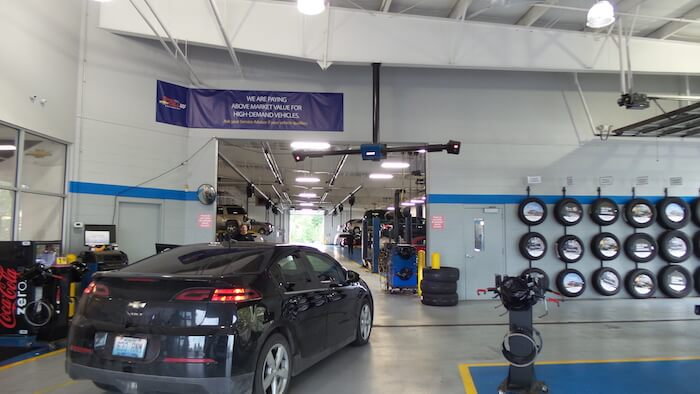 New facility at Tom Gill Chevrolet