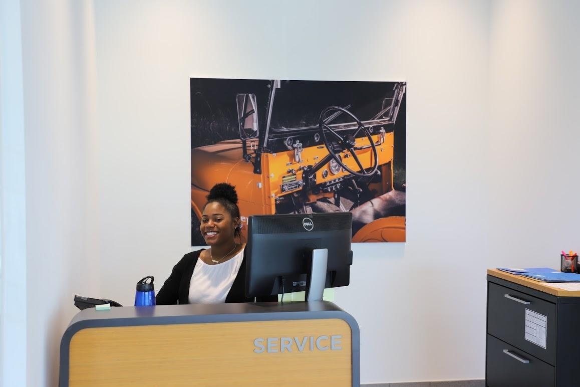 Automotive Dealership Receptionist